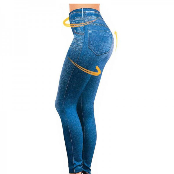 Female Hot Pants Jeans Leggings Casual Plus Size Bottoms For Women Extra Images 0