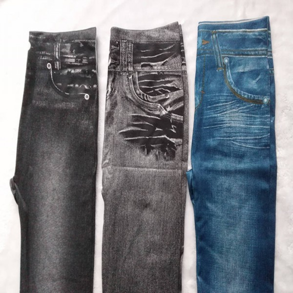 Female Hot Pants Jeans Leggings Casual Plus Size Bottoms For Women Extra Images 2