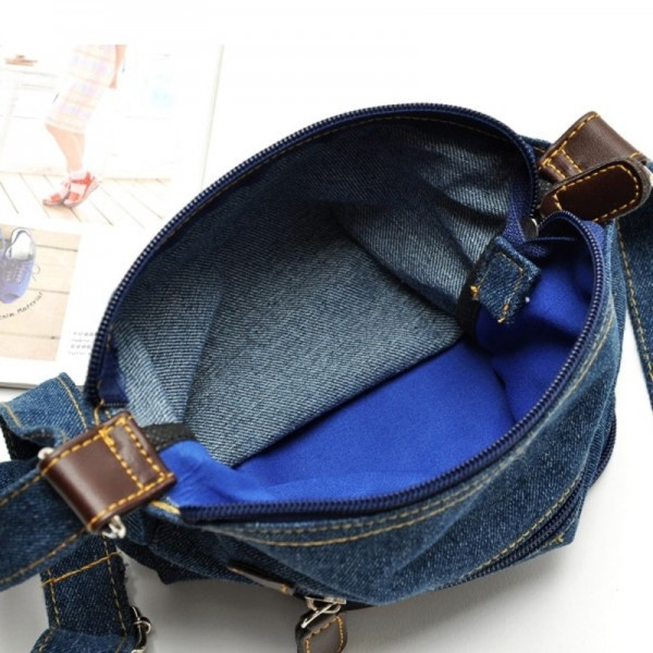 Women Messenger Bags Ladies Small Shoulder Bag Satchels Girls Crossbody Summer Sling Vintage Denim Bags Extra Image 4