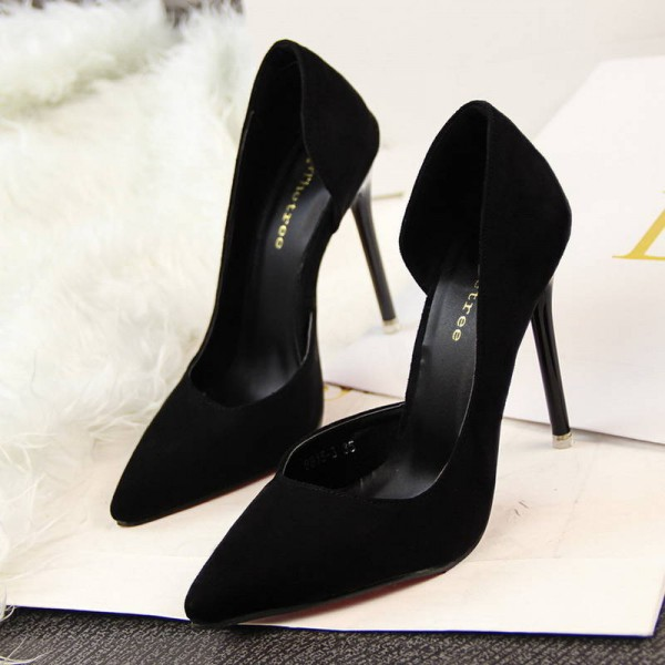 Women Pumps Sexy High Heel Fashion Pointed Toe Thin Wedding