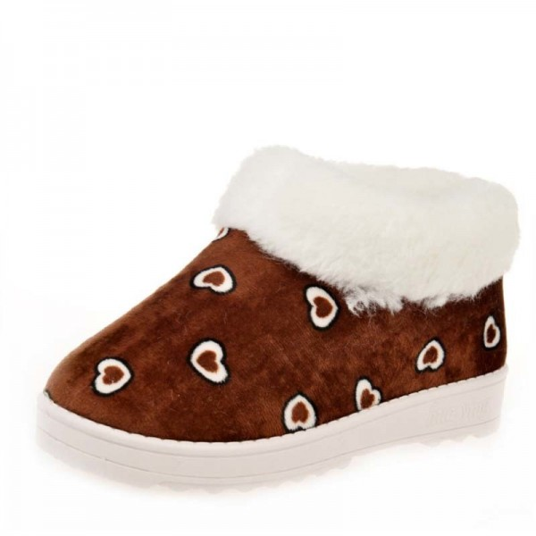 Women Snow Boots Winter Warm Fur Ankle Boots Thick Sole Cotton Shoes Woman Flats Anti Skid Female Shoes Extra Image 4