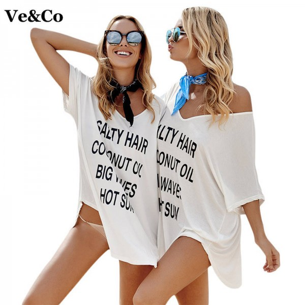 Women Swimsuit Cover Up Sexy Bathing Suit Cover Up New Summer V Neck