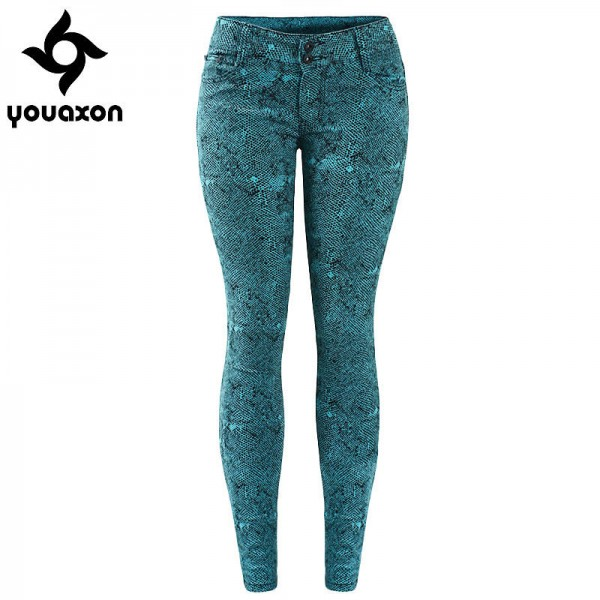 Youaxon Women New Arrival High Street Low Waist Stretch Skinny Denim Jeans For Women Thumbnail